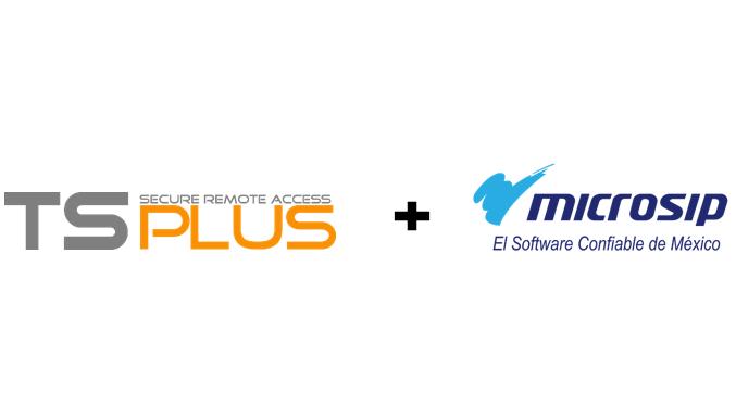 MIcrosip + TSplus